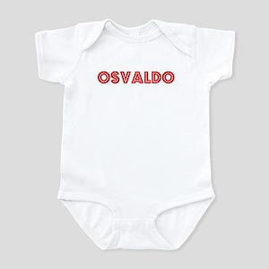 Retro Osvaldo (Red) Infant Bodysuit