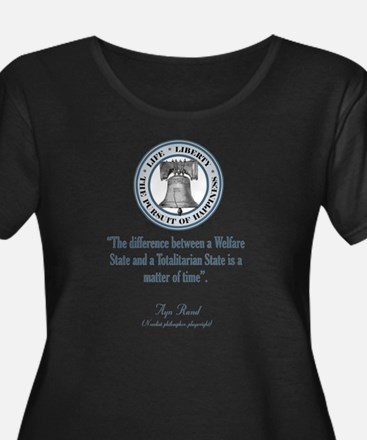 ayn rand quote1 Plus Size T-Shirt