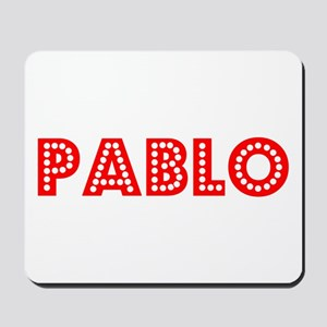 Retro Pablo (Red) Mousepad