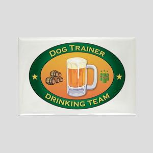 Dog Trainer Team Rectangle Magnet