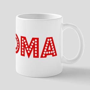 Retro Paloma (Red) Mug