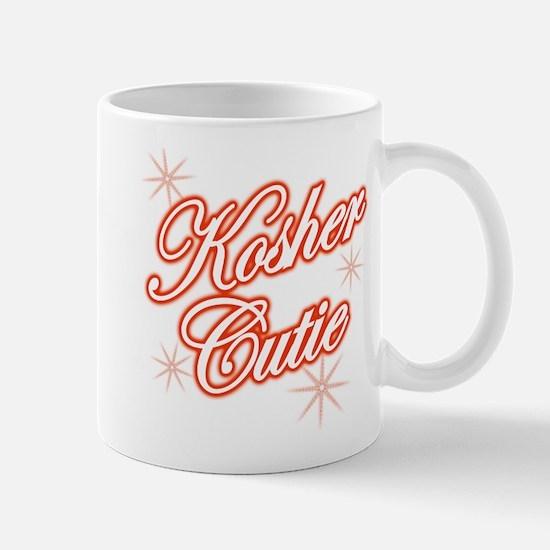 Kosher Cutie - red Mug