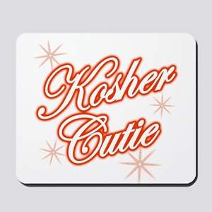 Kosher Cutie - red Mousepad