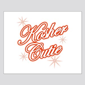 Kosher Cutie - red Small Poster