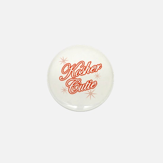 Kosher Cutie - red Mini Button