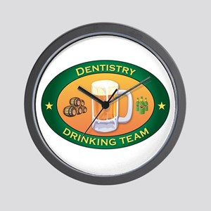 Dentistry Team Wall Clock