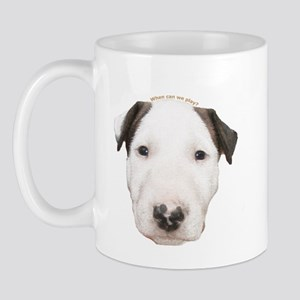 Miniature Bull Terrier Puppy Mug