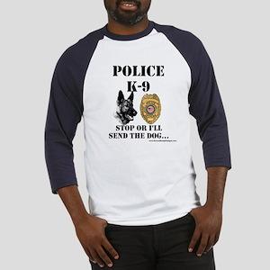 Police K-9 Baseball Jersey