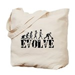 Bowling Bowler Evolution Tote Bag