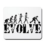 Bowling Bowler Evolution Mousepad