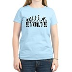 Bowling Bowler Evolution Women's Light T-Shirt