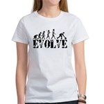 Bowling Bowler Evolution Women's T-Shirt