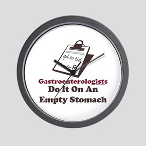 Funny Gastroenterologist Wall Clock