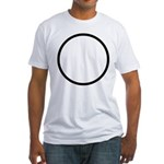 Circle Symbol Fitted T-Shirt