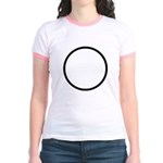 Circle Symbol Jr. Ringer T-Shirt
