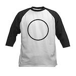 Circle Symbol Kids Baseball Jersey