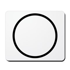 Circle Symbol Mousepad