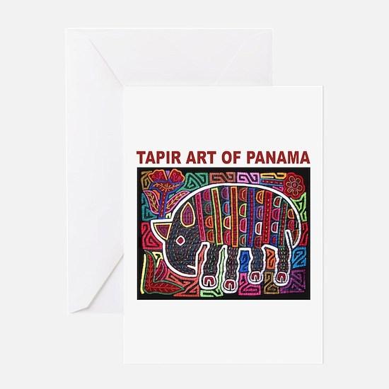 Tapir Mola Greeting Card