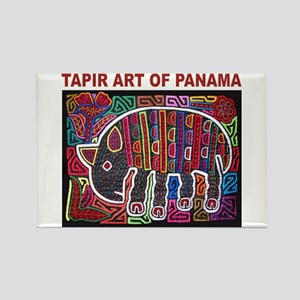 Tapir Mola Rectangle Magnet