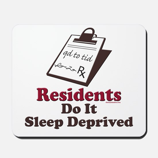 Funny Resident or Intern Mousepad