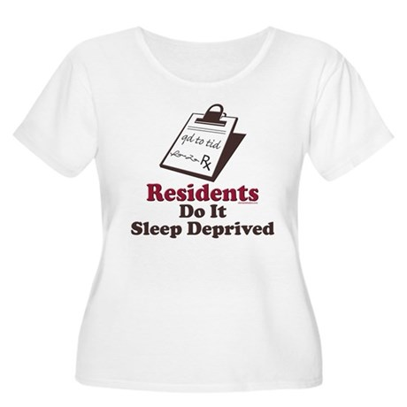 Funny Resident or Intern Women's Plus Size Scoop N