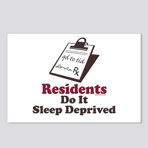Funny Resident or Intern Postcards (Package of 8)