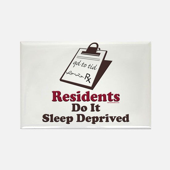Funny Resident or Intern Rectangle Magnet