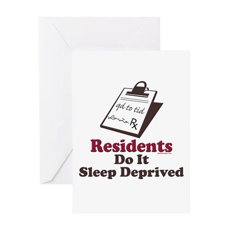 Funny Resident or Intern Greeting Card