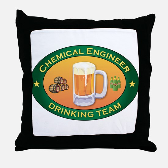 Chemical Engineer Team Throw Pillow