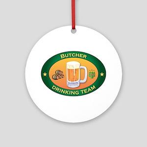 Butcher Team Ornament (Round)