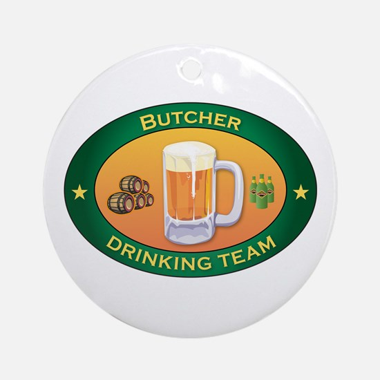 Butcher Team Ornament (Round)
