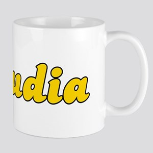 Retro Claudia (Gold) Mug