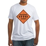 bricktown station Fitted T-Shirt