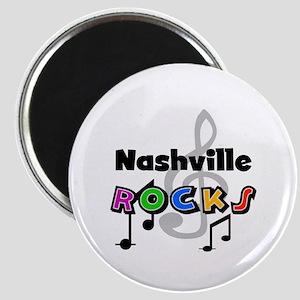 Nashville Rocks Magnet