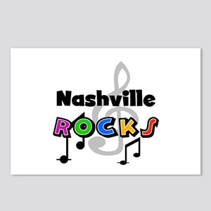 Nashville Rocks Postcards (Package of 8)