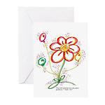 "Daisy ""Celebration"" Cards (pk of 10)"