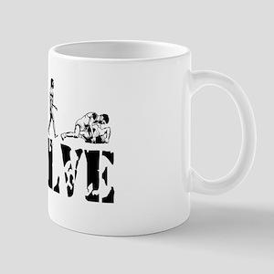 Wrestling Wrestler Mug