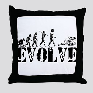 Wrestling Wrestler Throw Pillow