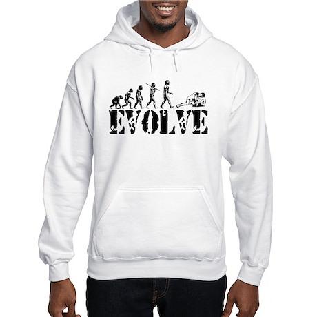 Wrestling Wrestler Hooded Sweatshirt