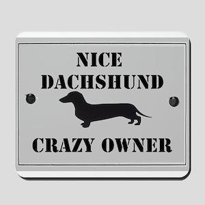 Nice Dachshund Mousepad