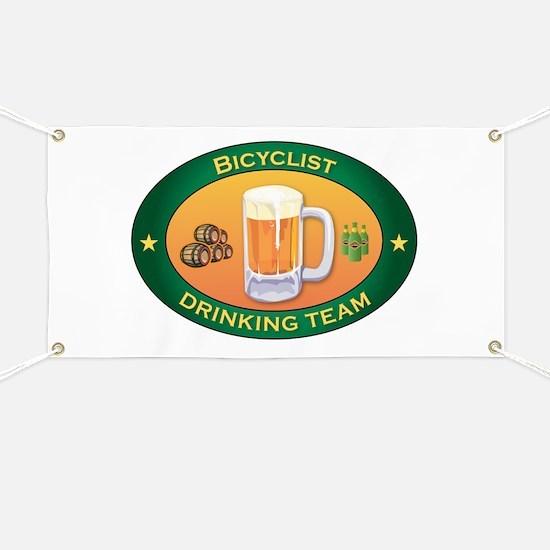 Bicyclist Team Banner