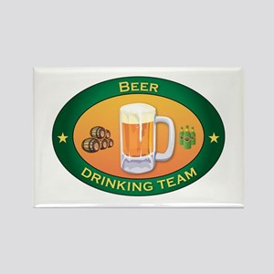 Beer Team Rectangle Magnet