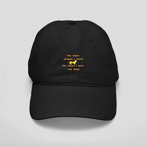 Love My Dog Black Cap