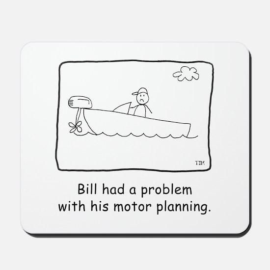Motor Planning Mousepad