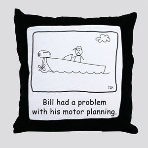 Motor Planning Throw Pillow