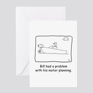 Motor Planning Greeting Card