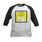 Tennis joke Baseball Jersey
