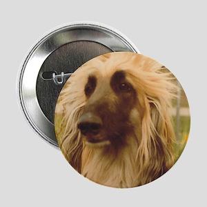 Afghan Hound Button