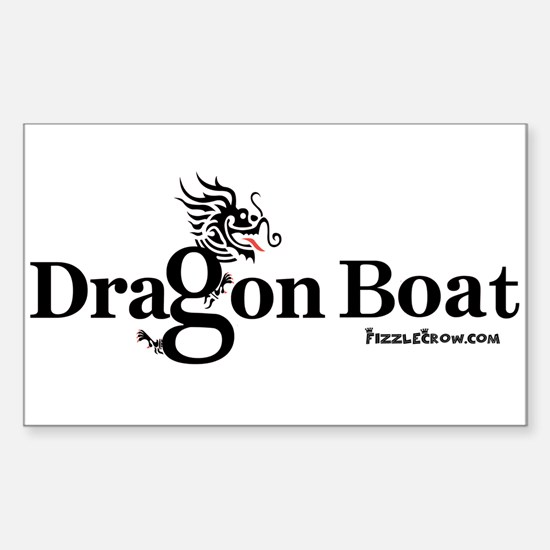 DragonBoat Racing Rectangle Decal