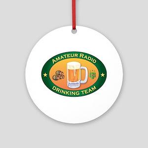Amateur Radio Team Ornament (Round)
